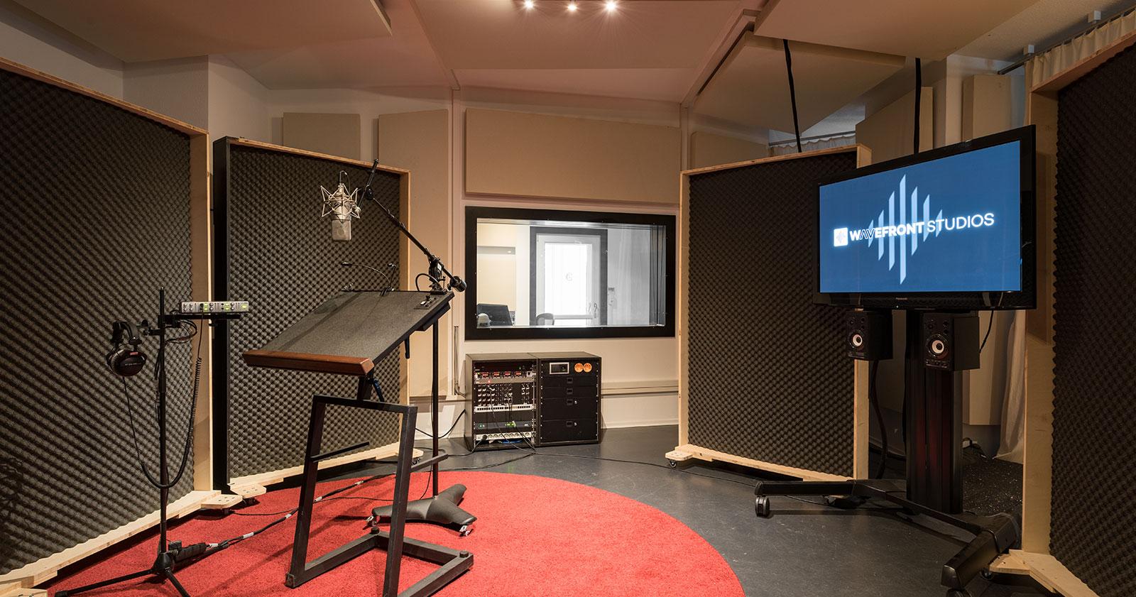Studio Aufnahme